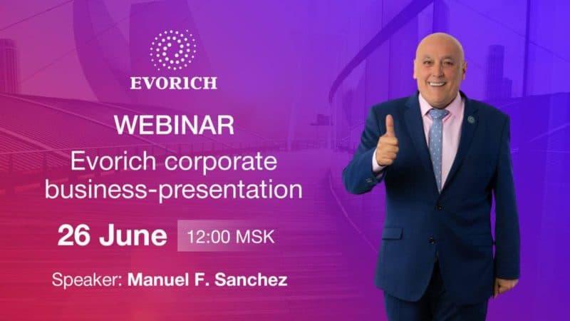 Корпоративная презентация Evorich