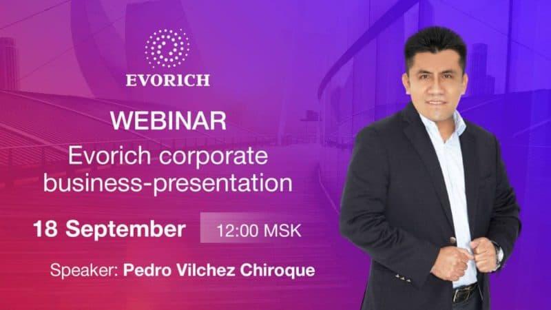 Вебинар Корпоративная бизнес-презентация Evorich