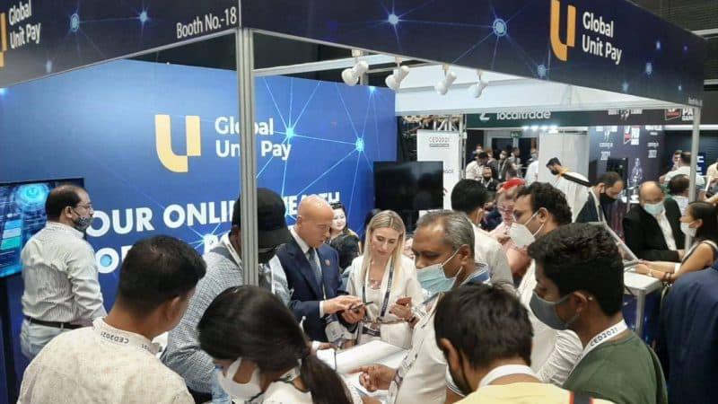 Платформа Global Unit Pay официально открыта на Crypto Expo Dubai 2021